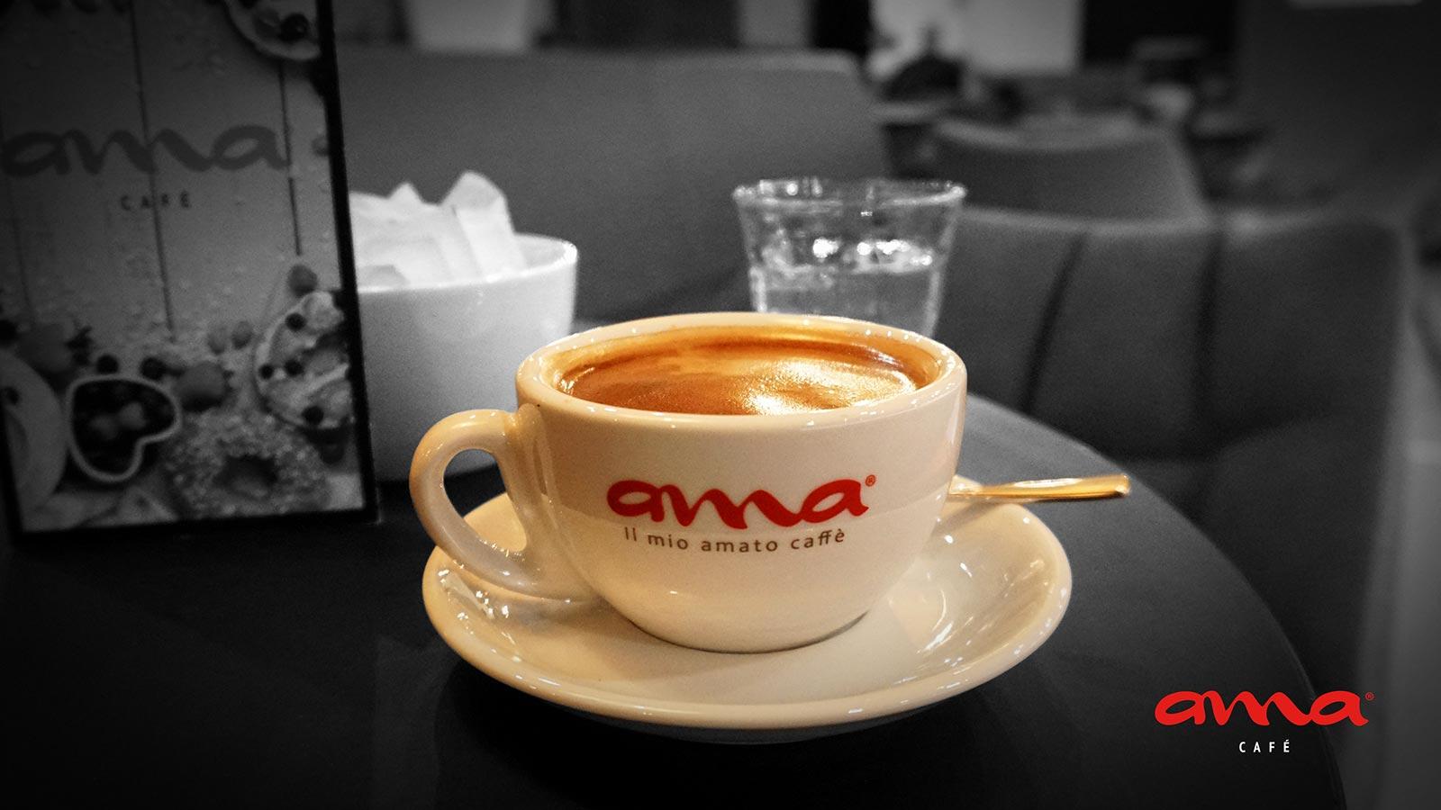Der einzigartige ama Kaffee Geschmack