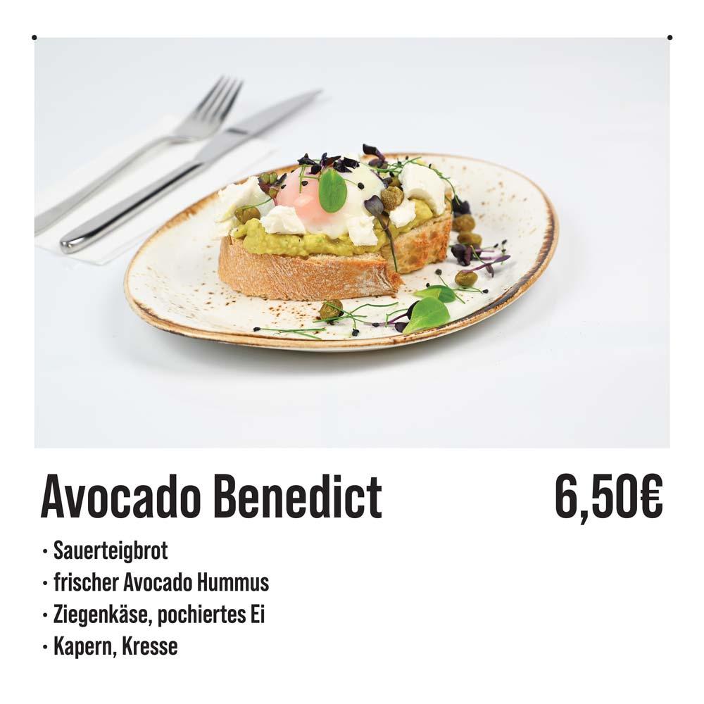 Avocado Benedict